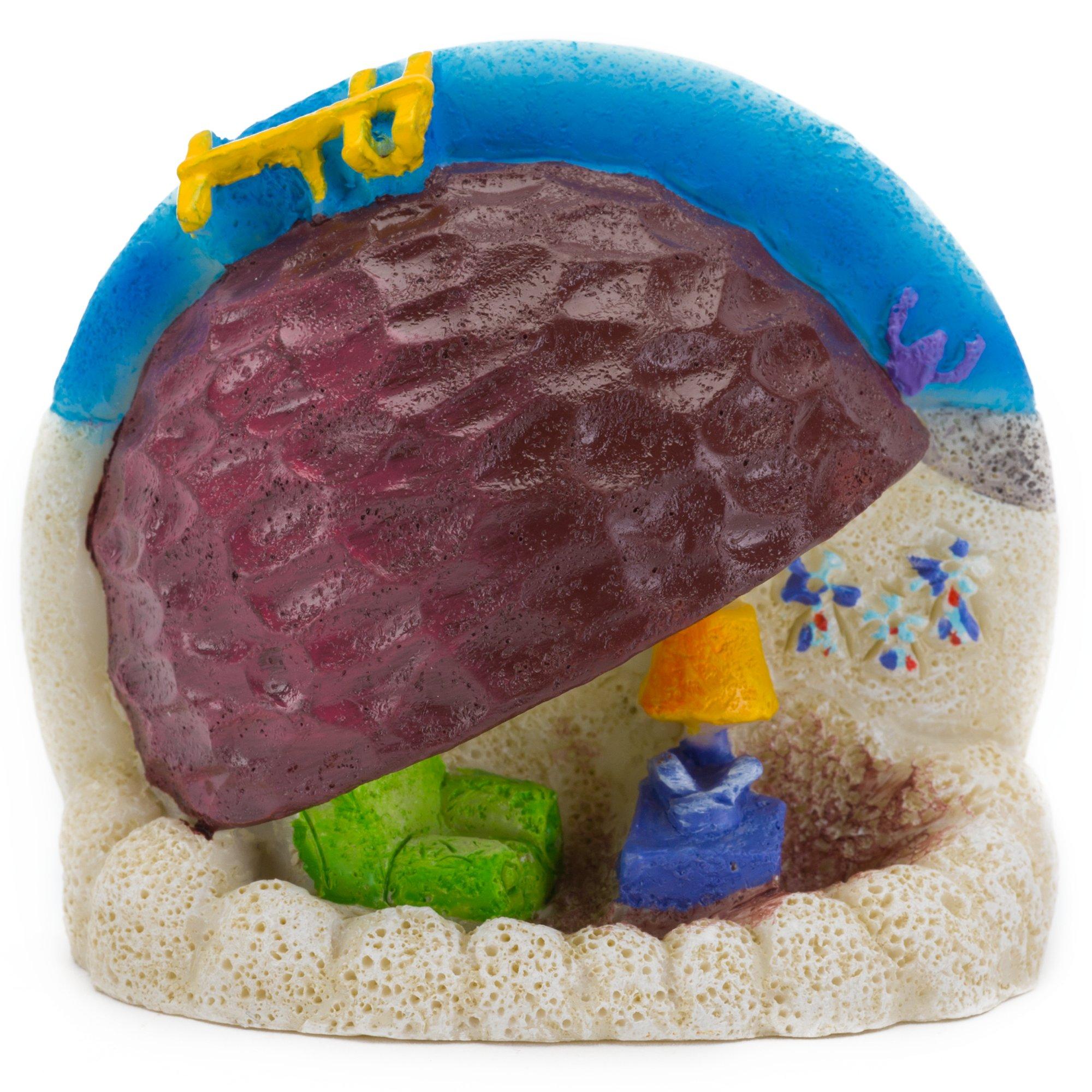 Penn plax spongebob patrick 39 s rock home aquarium ornament for Petco fish tank decor