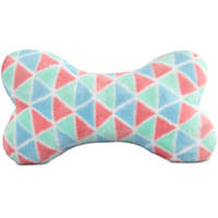 You & Me Multicolored Triangle Print Pillow