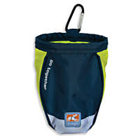 Kurgo Blue and Green Go Stuff It Treat Bag