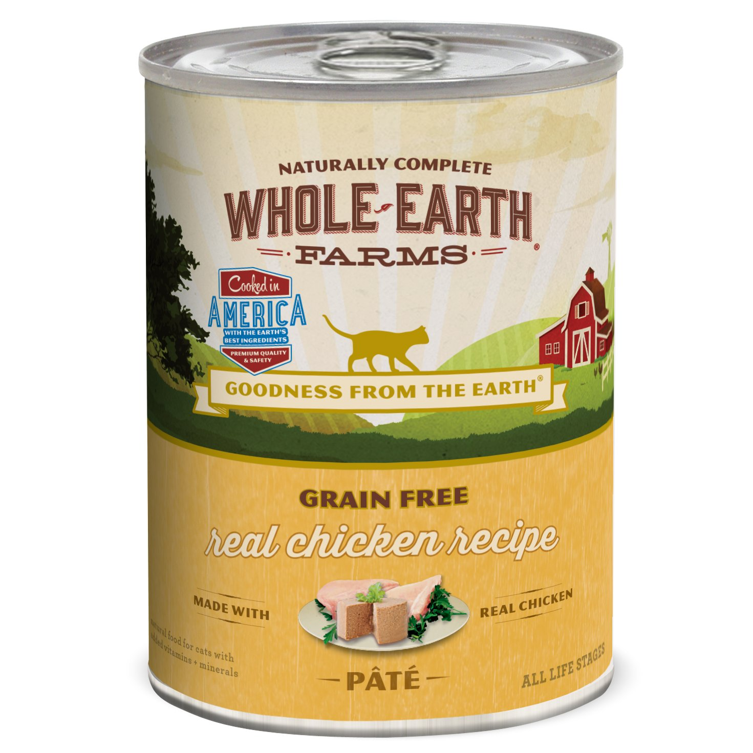 Petco Whole Earth Farms Cat Food