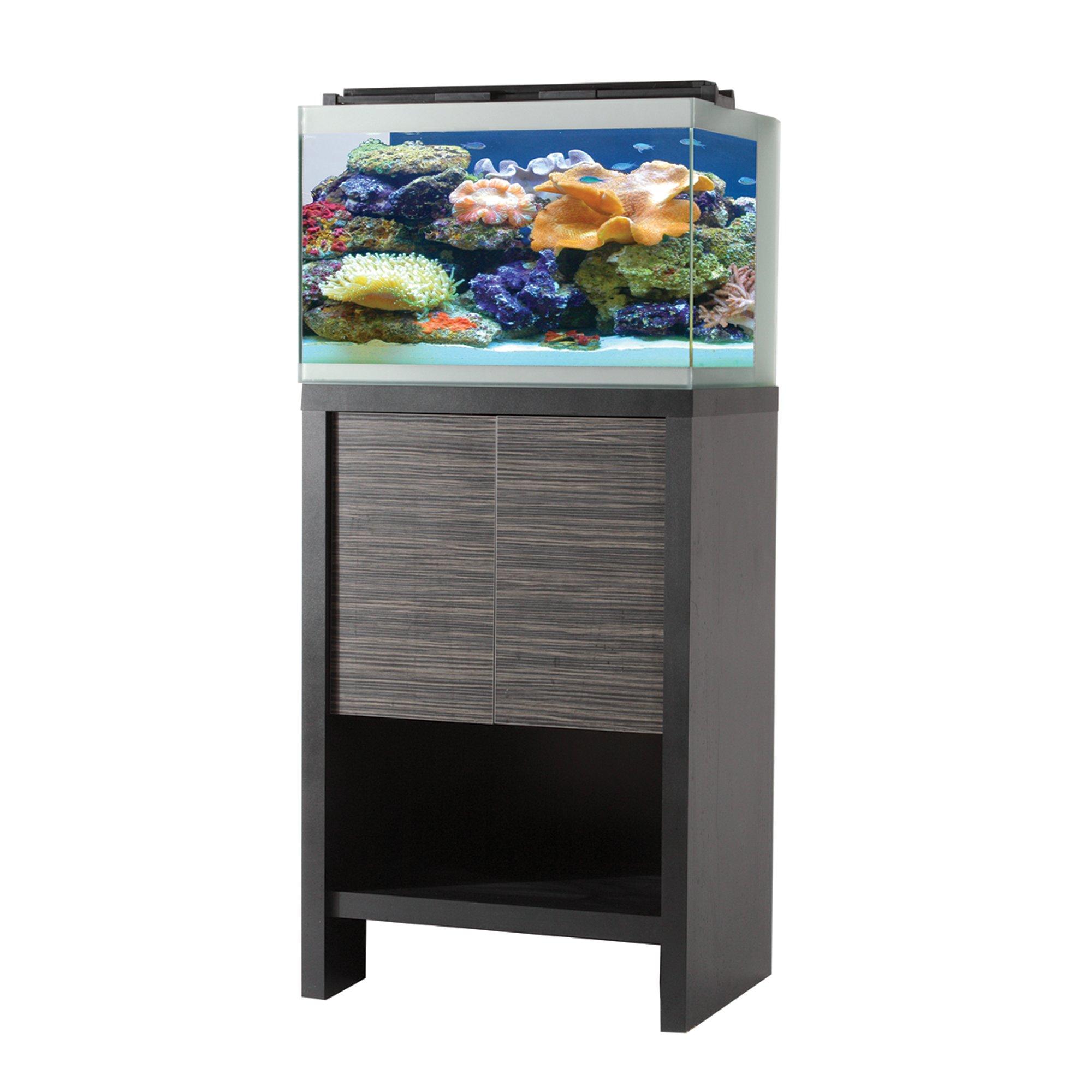 Fluval reef m60 aquarium set w black stand petco for Petco fish supplies