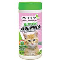 Espree Kitten Aloe Wipes 50ct.