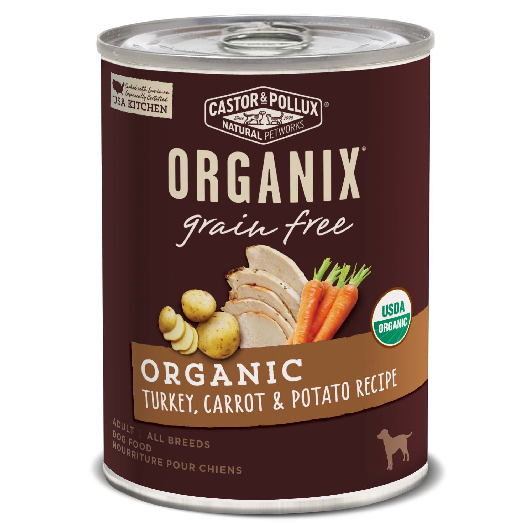 Organic Grain Free Turkey Dog Food