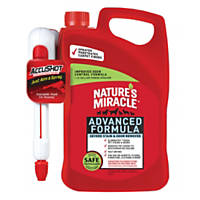 Nature's Miracle AccuShot Advanced Formula Stain and Odor Remover, 1.33 gallon