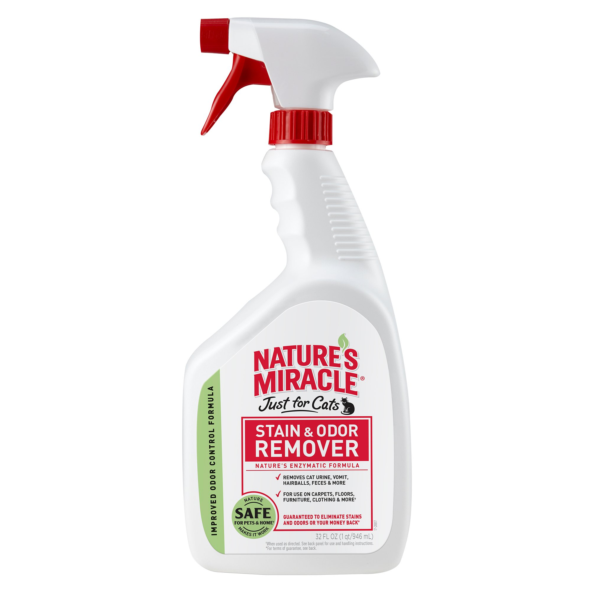 Nature's Miracle Just for Cats Stain and Odor Remover, 32 oz.