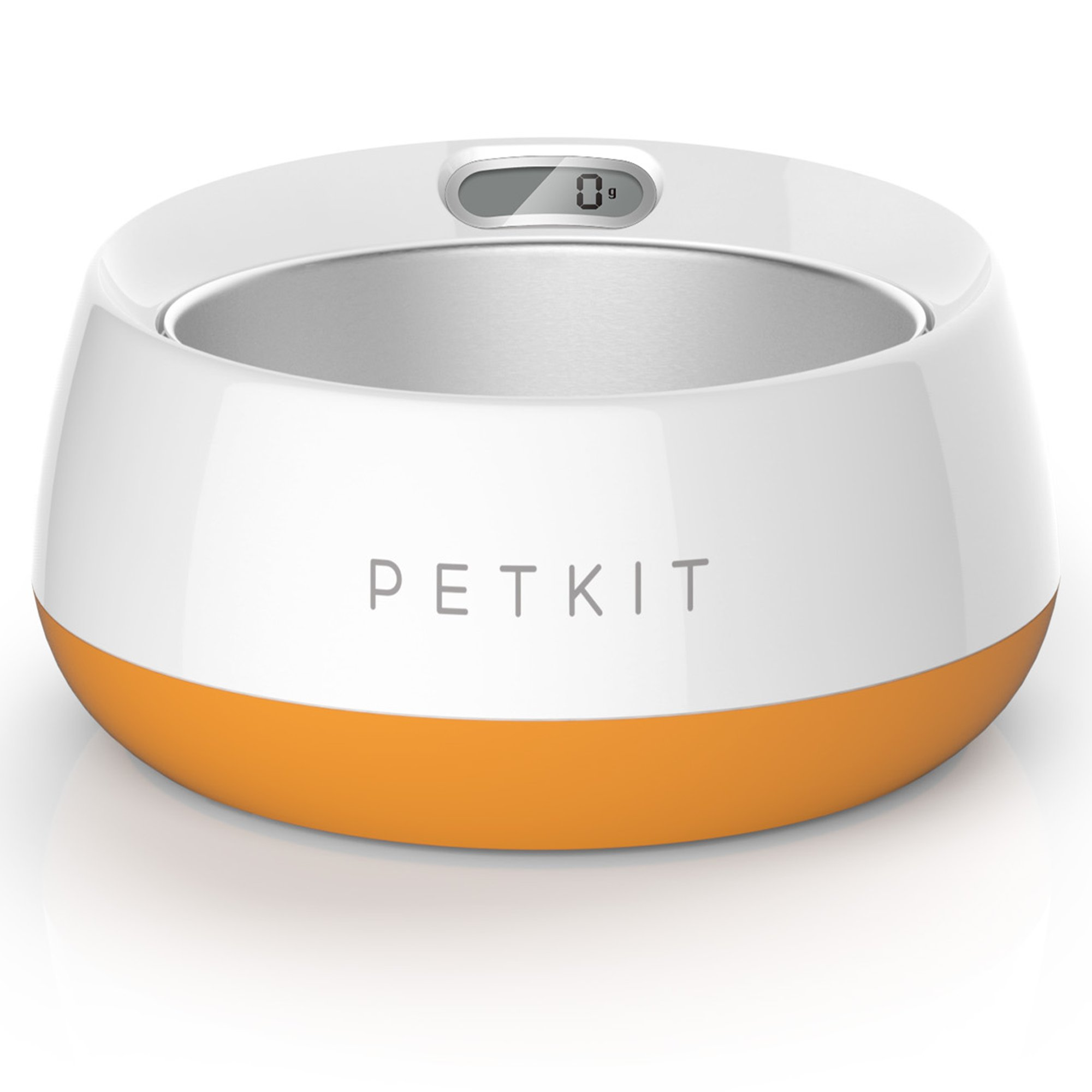 PetKit FRESH Metal Smart Digital Feeding Pet Bowl - Orange