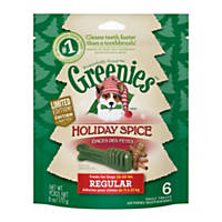 Greenies Holiday Spice Dental Regular Dog Treats, 6 oz.