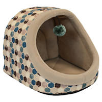 Dallas Manufacturing Blue Hooded Pet Bed