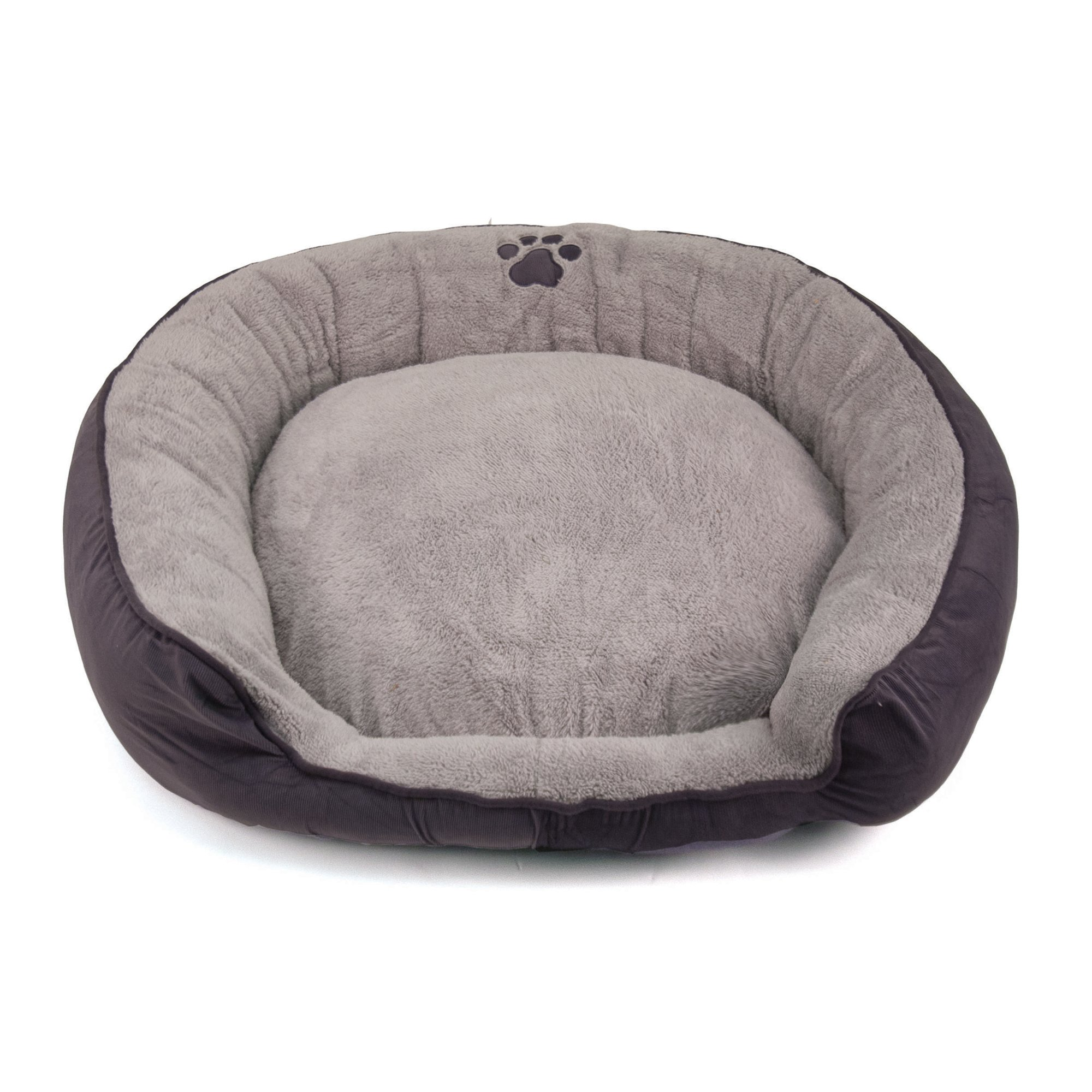 Dallas Manufacturing Purple Round Stepover Pet Bed