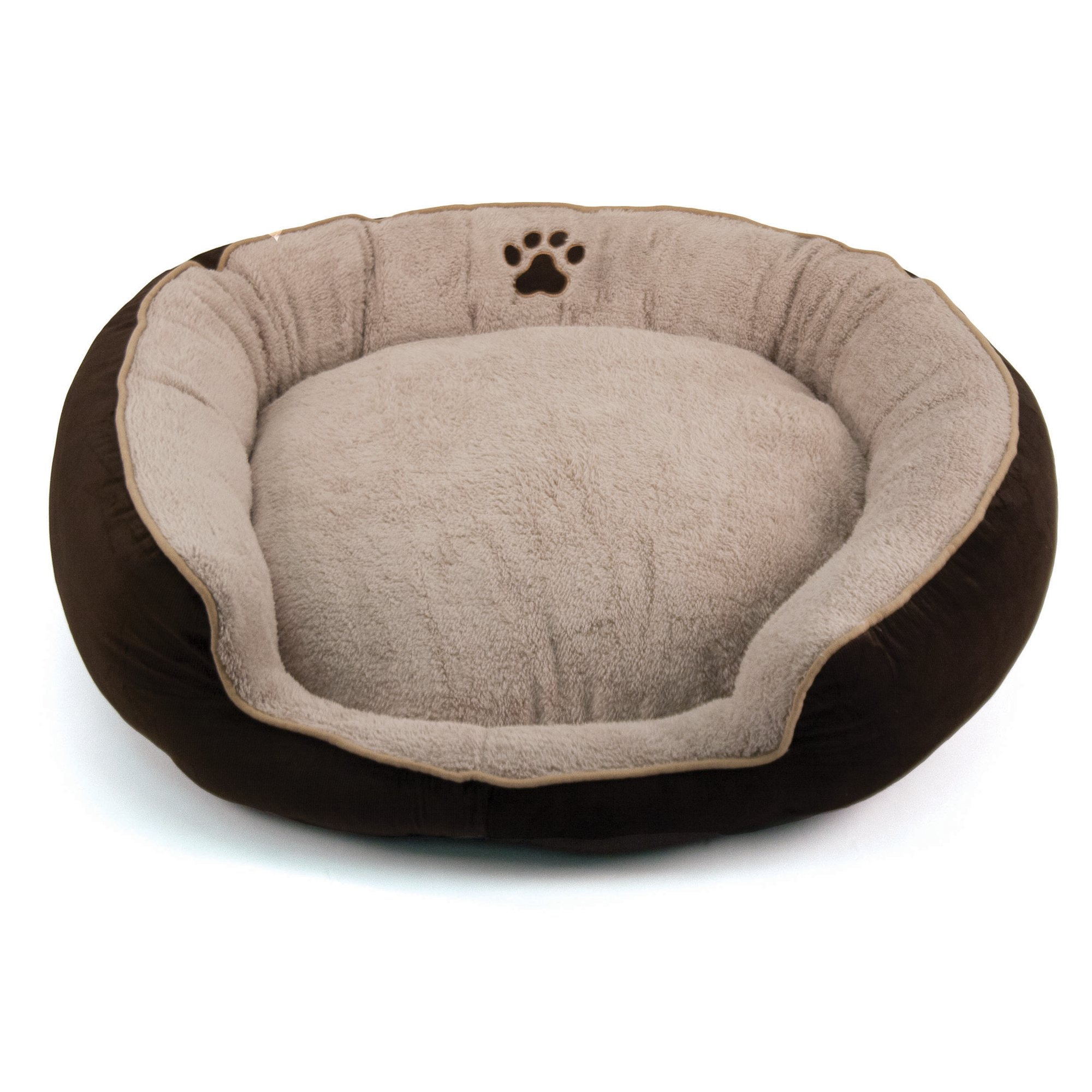 Dallas Manufacturing Brown Round Stepover Pet Bed