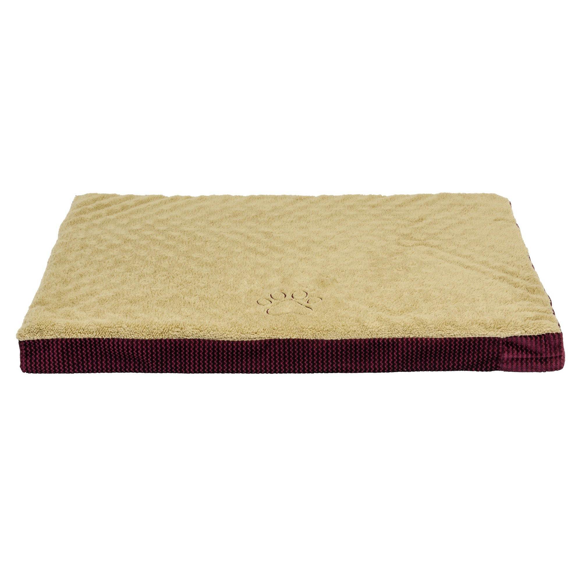 Dallas Manufacturing Brown Orthopedic Dog Bed
