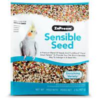 ZuPreem Sensible Seed Bird Food for Medium Birds, 2 lbs.
