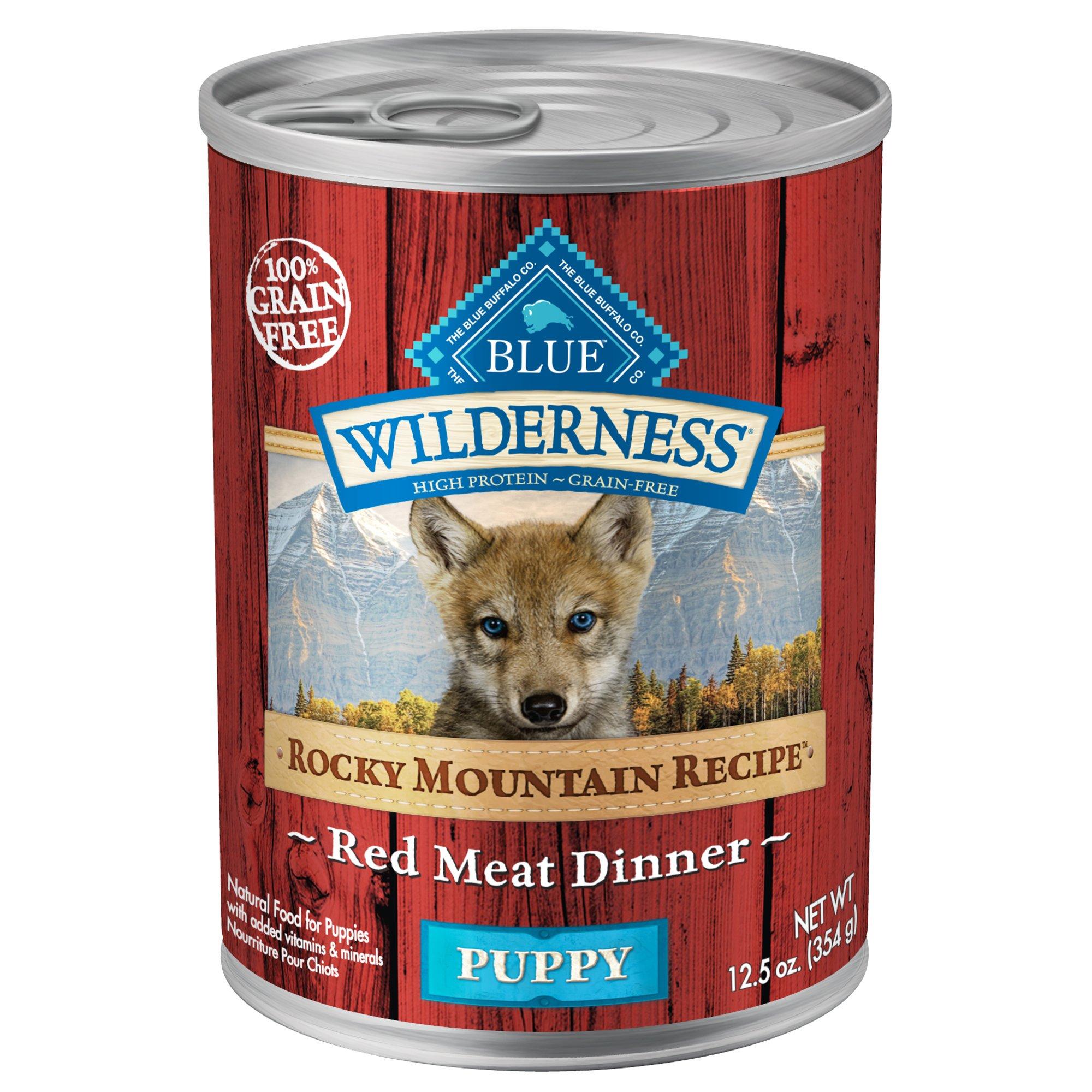 Blue Buffalo Canned Dog Food Puppy