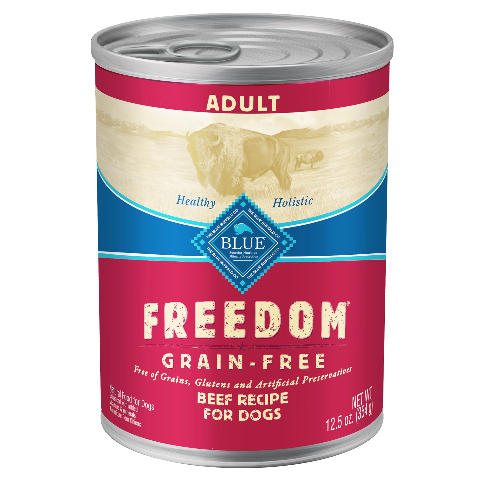 dogs product lines freedom food