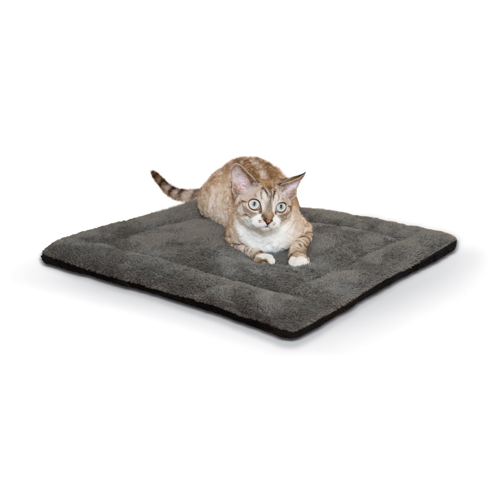 K&H Gray and Black Self Warming Pet Pad