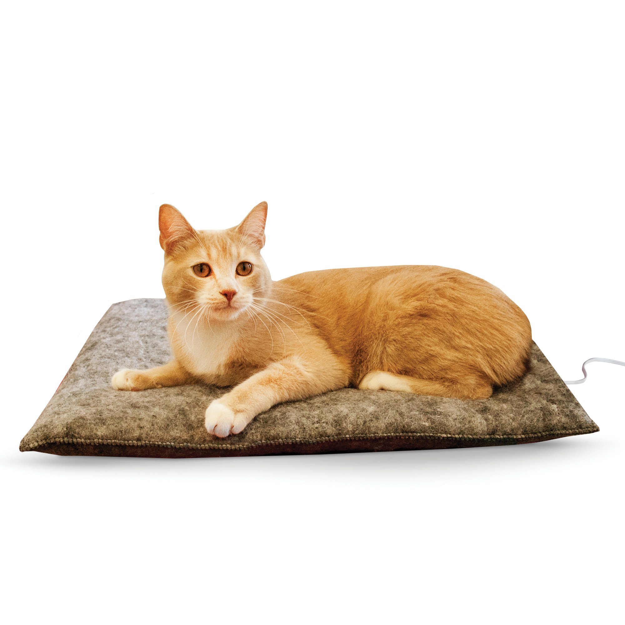 K Amp H Gray Amazin Thermo Cat Pad Petco