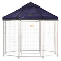 Advantek Select Pet Gazebo Lifestyle Cover, Blue