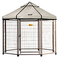 Advantek Select Pet Gazebo, Off White