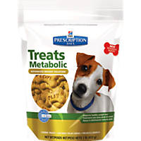 Hill's Prescription Diet Metabolic Advanced Weight Solution Canine Treats, 1 lb