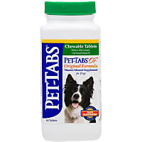 Pet-Tabs Complete Daily Vitamin-Mineral Dog Supplement