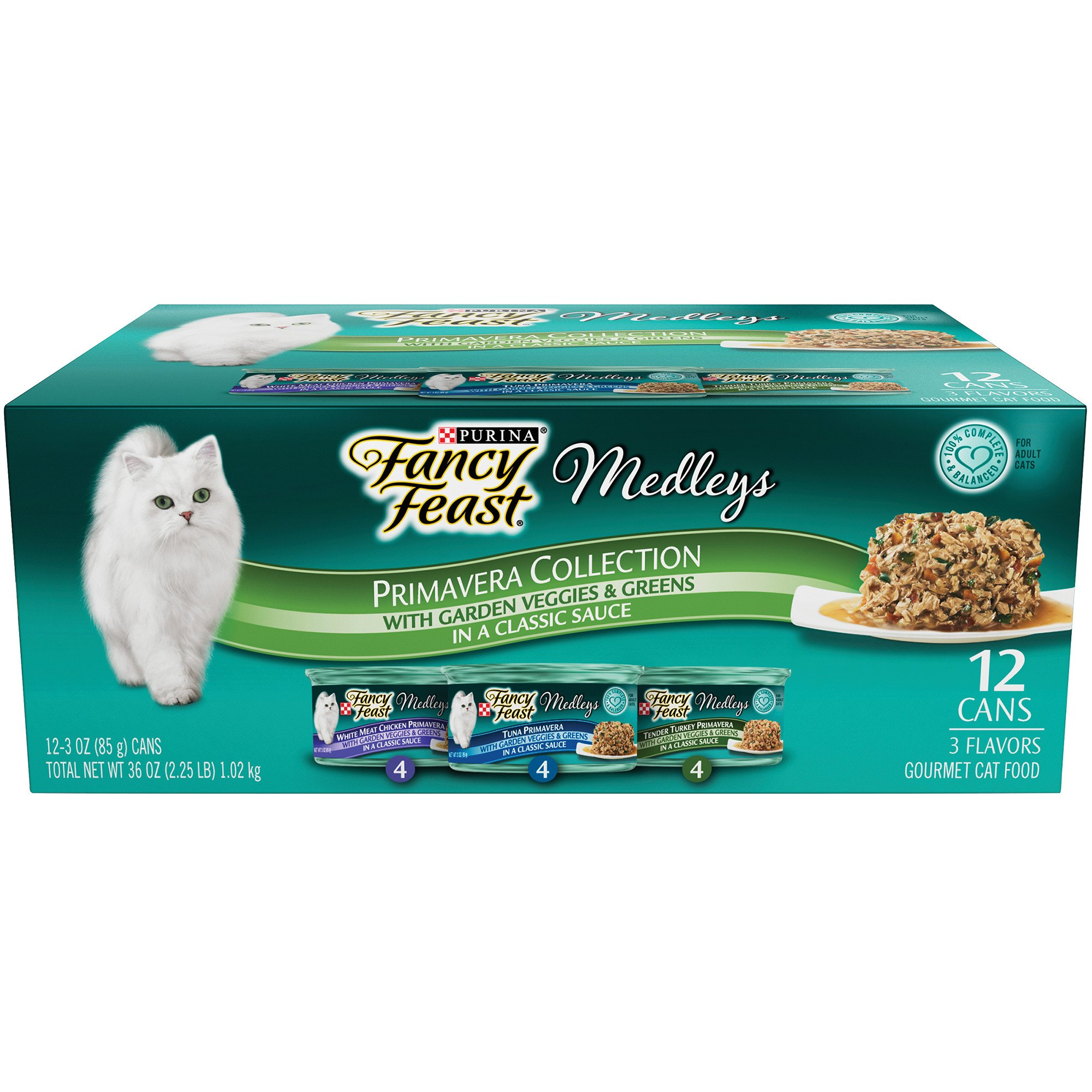 Fancy Feast Elegant Medleys Primavera Variety Pack Adult Canned Cat Food