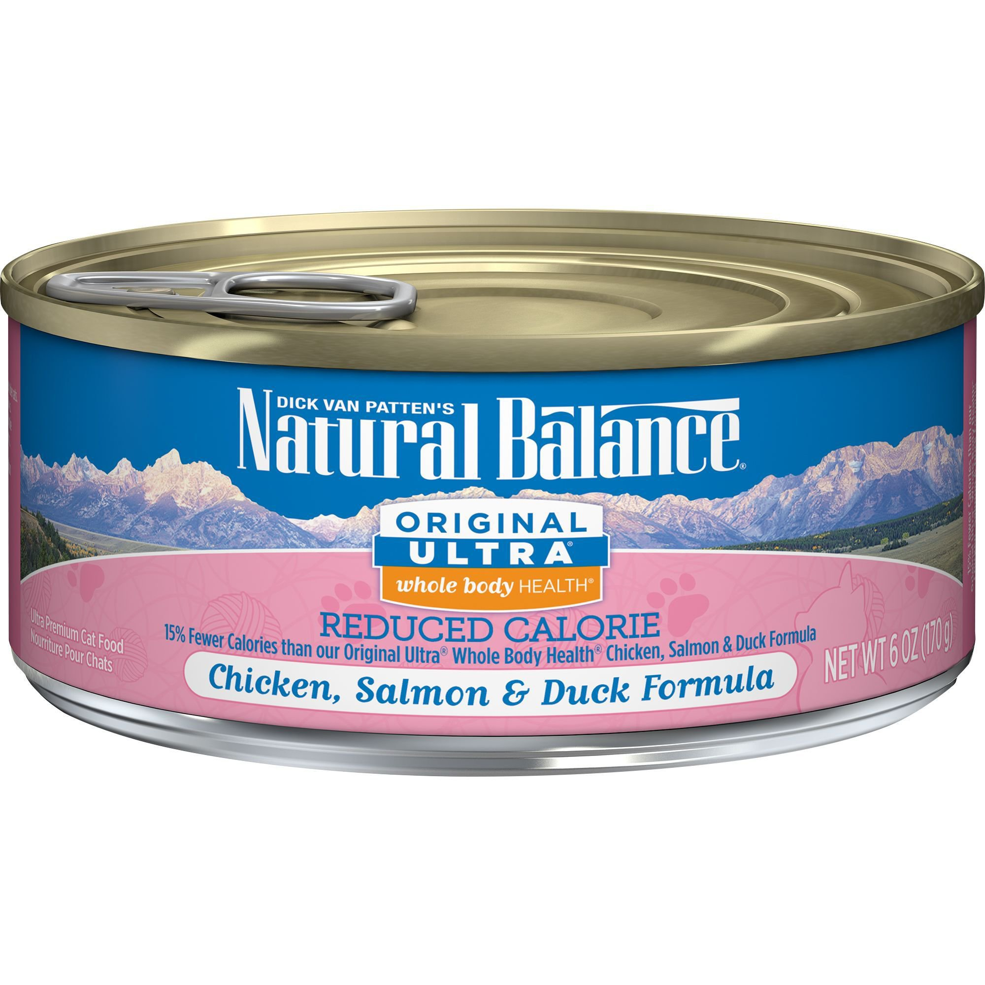Natural Balance Reduced Calorie Canned Cat Food