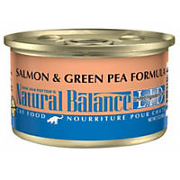 Natural Balance L.I.D. Salmon & Green Pea Formula Canned Cat Food
