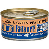Natural Balance L.I.D. Limited Ingredient Diets Canned Cat & Kitten Food, Salmon & Green Pea