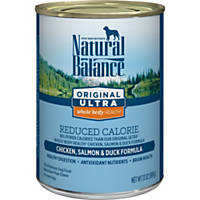 Natural Balance Original Ultra Reduced Calorie Chicken, Salmon & Duck Canned Dog Food