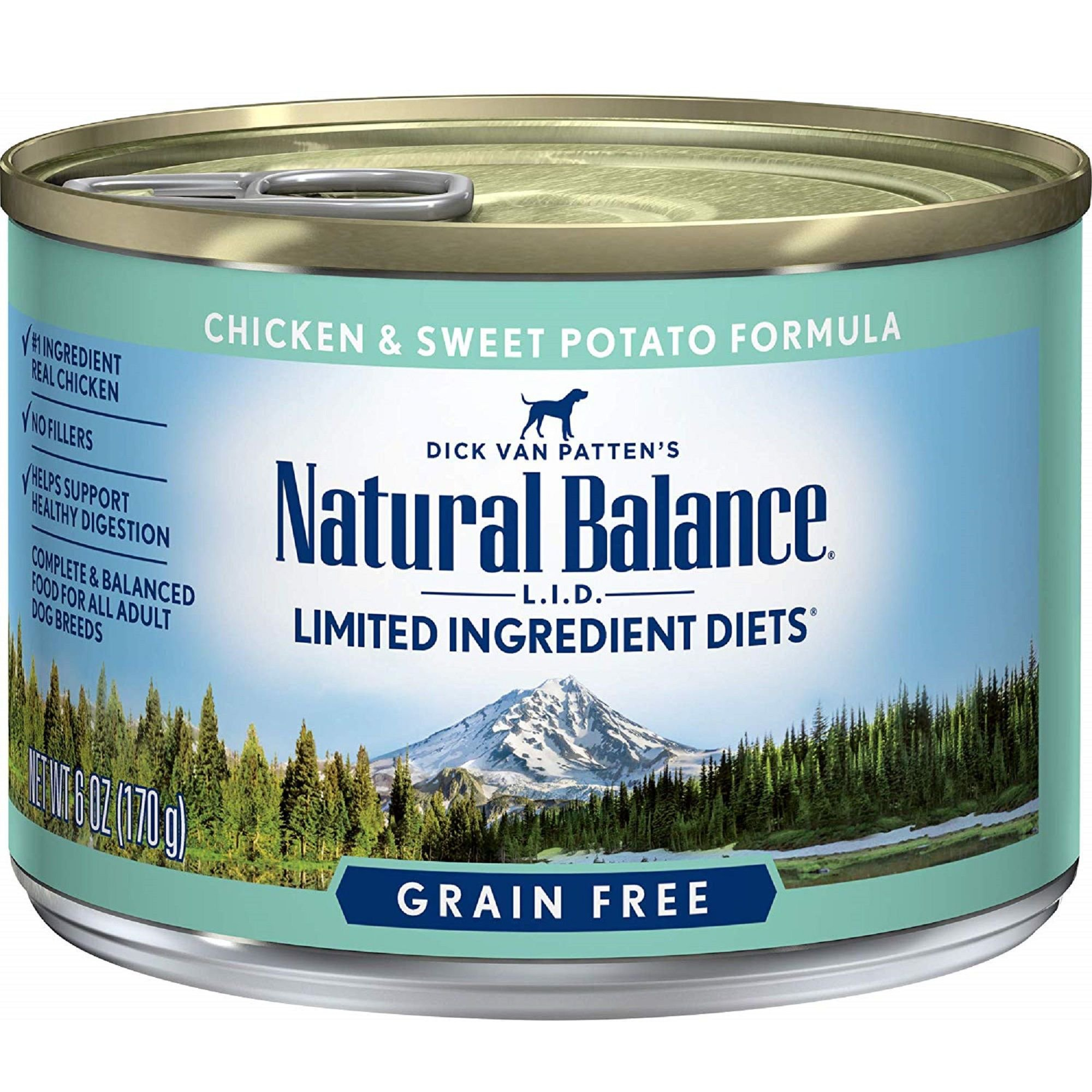 Natural Balance Limited Ingredient Diets Chicken & Sweet Potato Formula Canned Dog Food