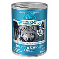 Blue Buffalo Wilderness Turkey & Chicken Canned Dog Food