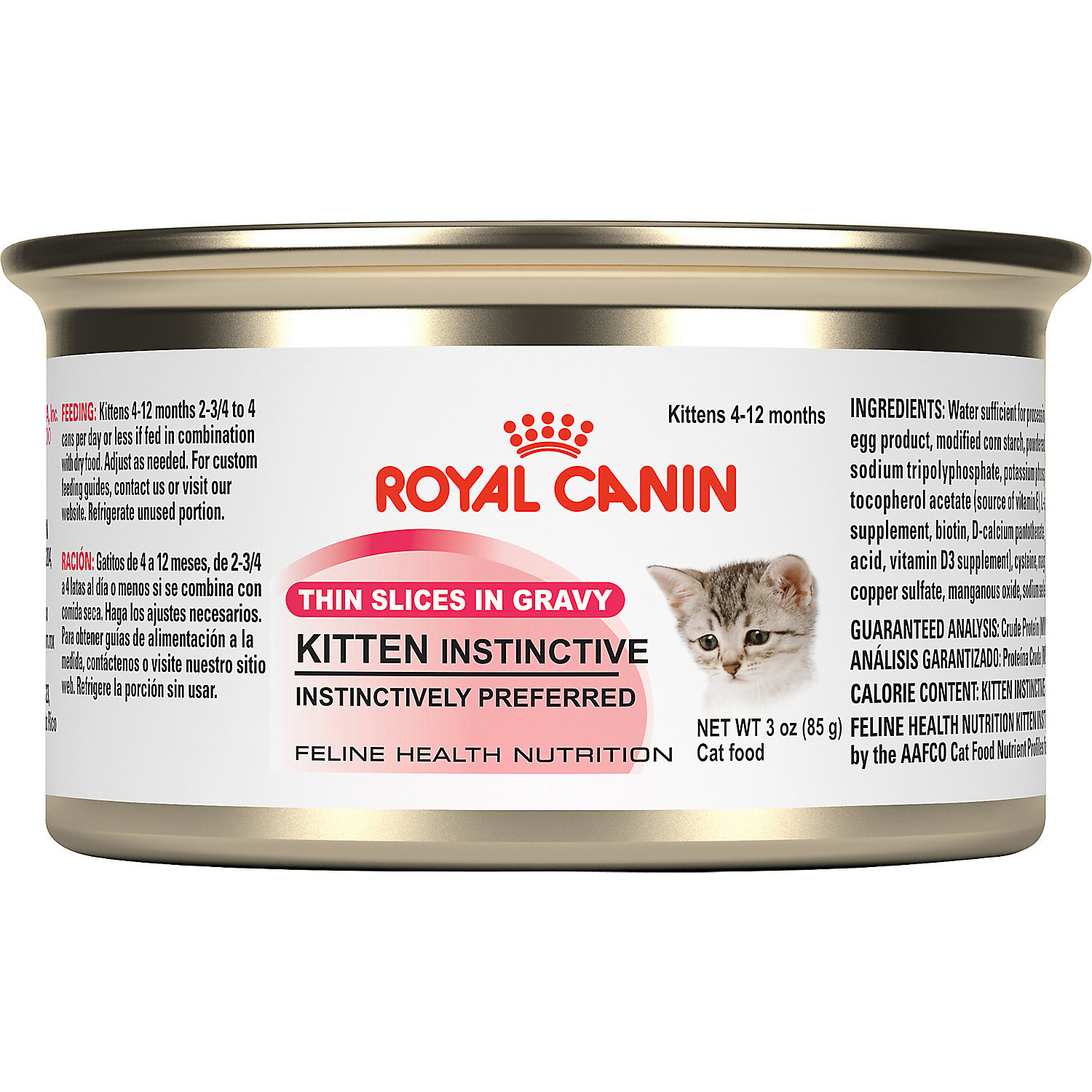 royal canin feline health nutrition kitten instinctive canned cat food ebay. Black Bedroom Furniture Sets. Home Design Ideas