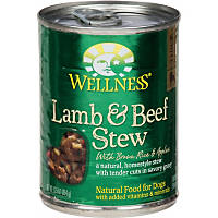 Wellness Lamb & Beef Stew with Brown Rice & Apples Canned Dog Food