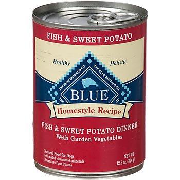Blue Buffalo Homestyle Recipe Fish & Sweet Potato Dinner Canned Dog Food