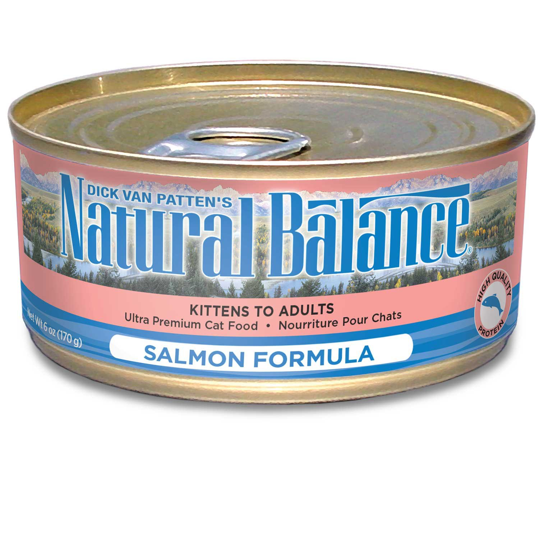 Natural Balance Ultra Premium Canned Cat Food Salmon Formula