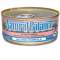 Natural Balance Ultra Premium Canned Cat Food Salmon Formula