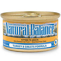 Natural Balance Ultra Premium Canned Cat Food, Turkey & Giblets