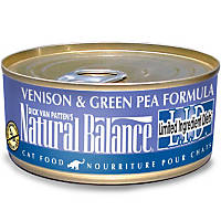 Natural Balance L.I.D. Venison & Green Pea Formula Canned Cat Food
