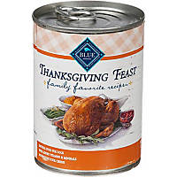 Blue Buffalo Family Favorite Recipes Thanksgiving Feast Adult Canned Dog Food