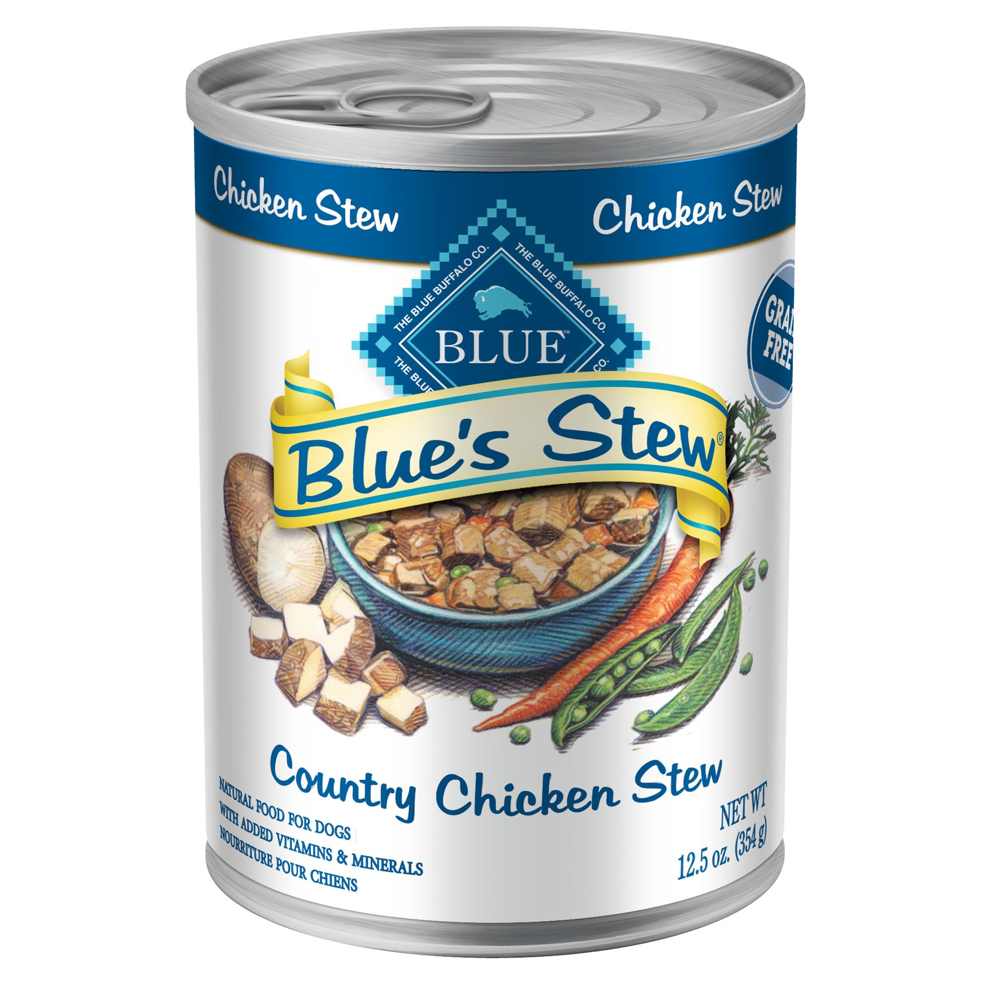 Blue Buffalo Blue's Stew Country Chicken Stew Adult Canned Dog Food