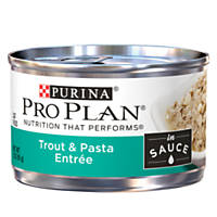 Pro Plan Savor Adult Canned Cat Food in Sauce, Trout & Pasta
