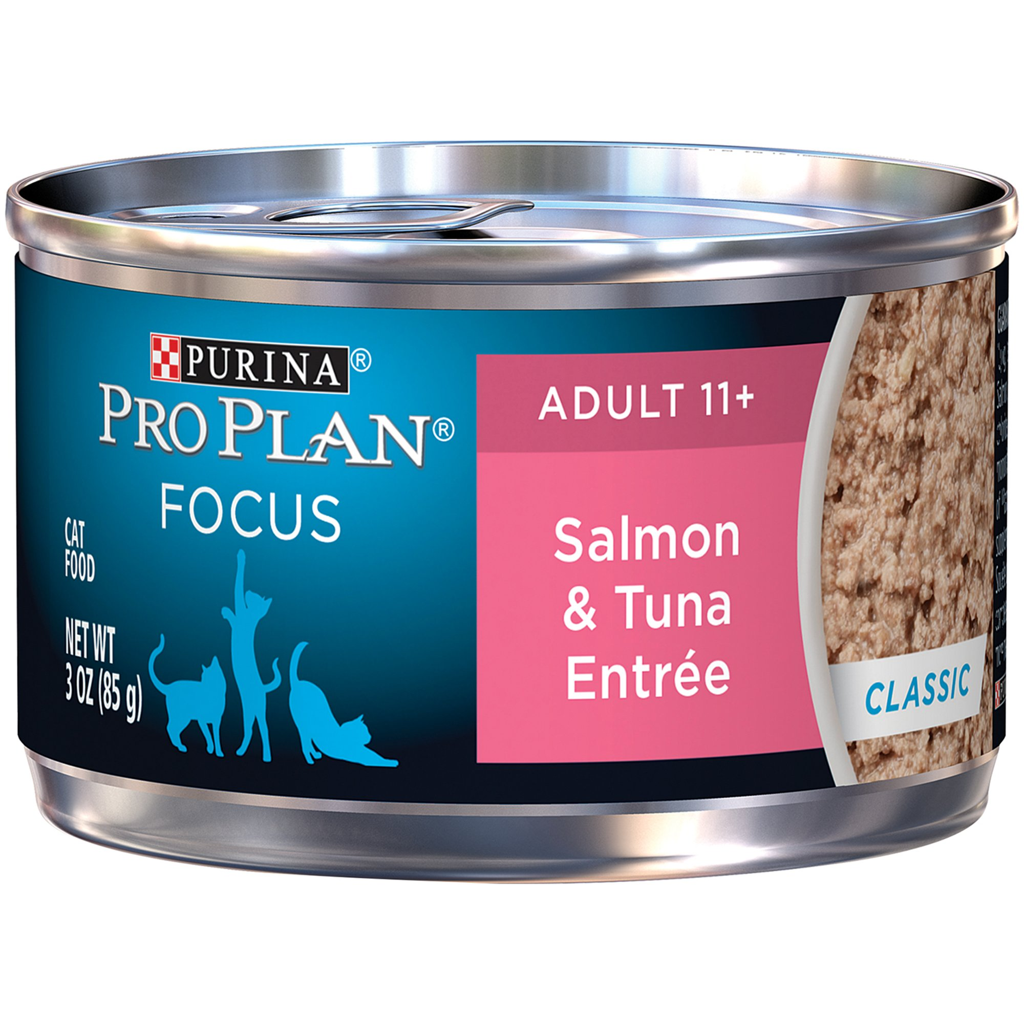 Pro Plan Focus Entrees Adult 11+ Canned Cat Food, Salmon & Tuna