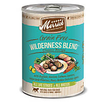 Merrick Classic Grain Free Wilderness Blend Canned Dog Food