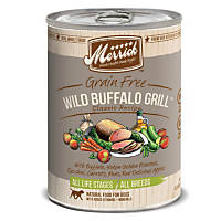 Merrick Classic Grain Free Wild Buffalo Grill Canned Dog Food