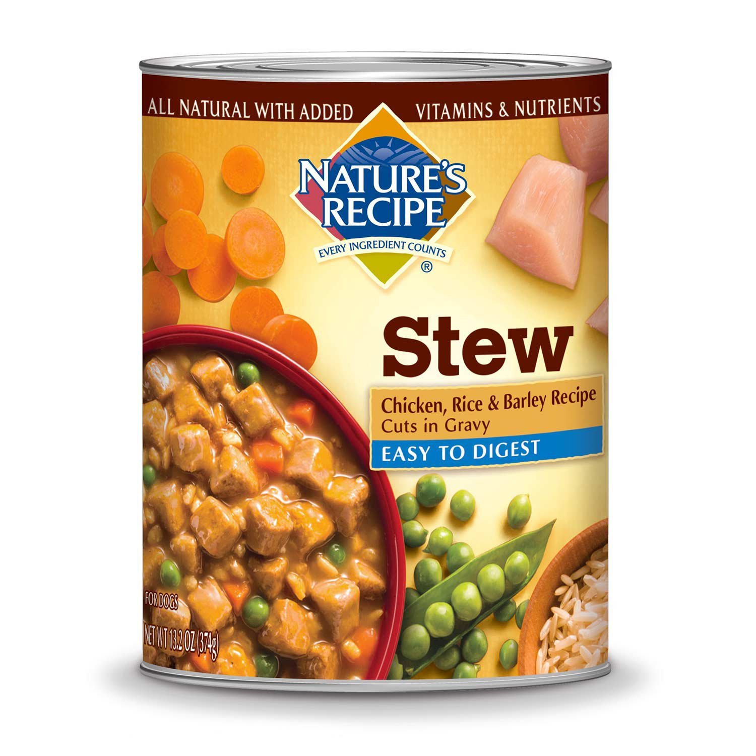Chicken And Rice Canned Dog Food