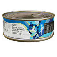 Solid Gold Chicken, Turkey, White Fish & Liver Gourmet Canned Cat Food