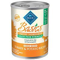 Blue Buffalo Basics LID & Grain Free Turkey & Potato Large Breed Adult Canned Dog Food