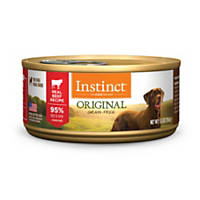 Nature's Variety Instinct Grain-Free Beef Canned Dog Food