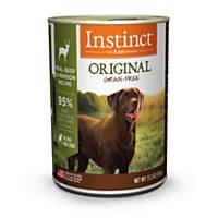 Nature's Variety Instinct Grain-Free Venison Formula Canned Dog Food