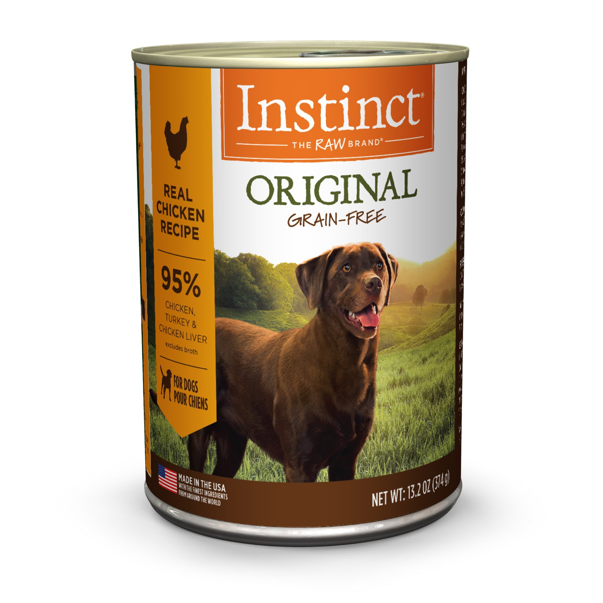 Nature's Variety Instinct Grain-Free Chicken Canned Dog Food